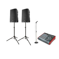 Cable Microphone & Speaker System (2400 Watts)