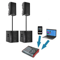 iPod / Laptop DJ System (4800 Watts)