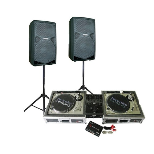 Technics Turntable DJ System (500 Watts)