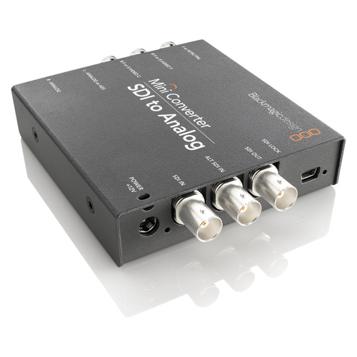 Blackmagic SDI to Analog  Mini Converter